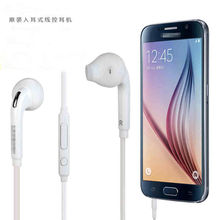 3.5MM  Earbud Mic Stereo Earphone Headset  For Samsung S6 S5 S4  hot sale