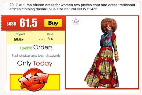 b9a141db9b03 Click here to Buy Now!! Hiver Femmes Riche de Bazin 100% coton Vêtements  Dame Africaine Longue Dashiki Jupe Robe pour les Femmes pas cher vêtements  chine ...