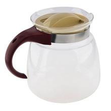 E-SHOW, высокое качество, 1850 мл, термостойкий стеклянный чайник, чайник для воды, может нагреваться непосредственно на газовых и электрических плитах