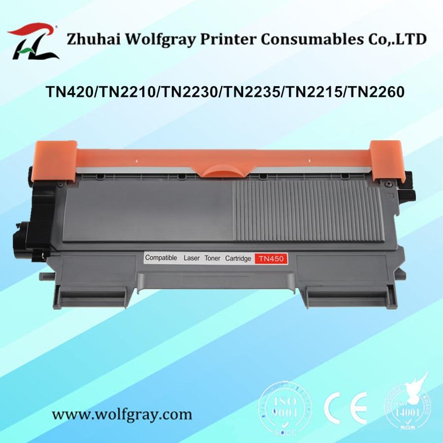 Kompatybilne kasety z tonerem dla brata tn420 TN-420 TN-2215 TN2215 HL-2220 2230 2240D 2250DN 2270D 2280DW MFC-7360N 7860DW
