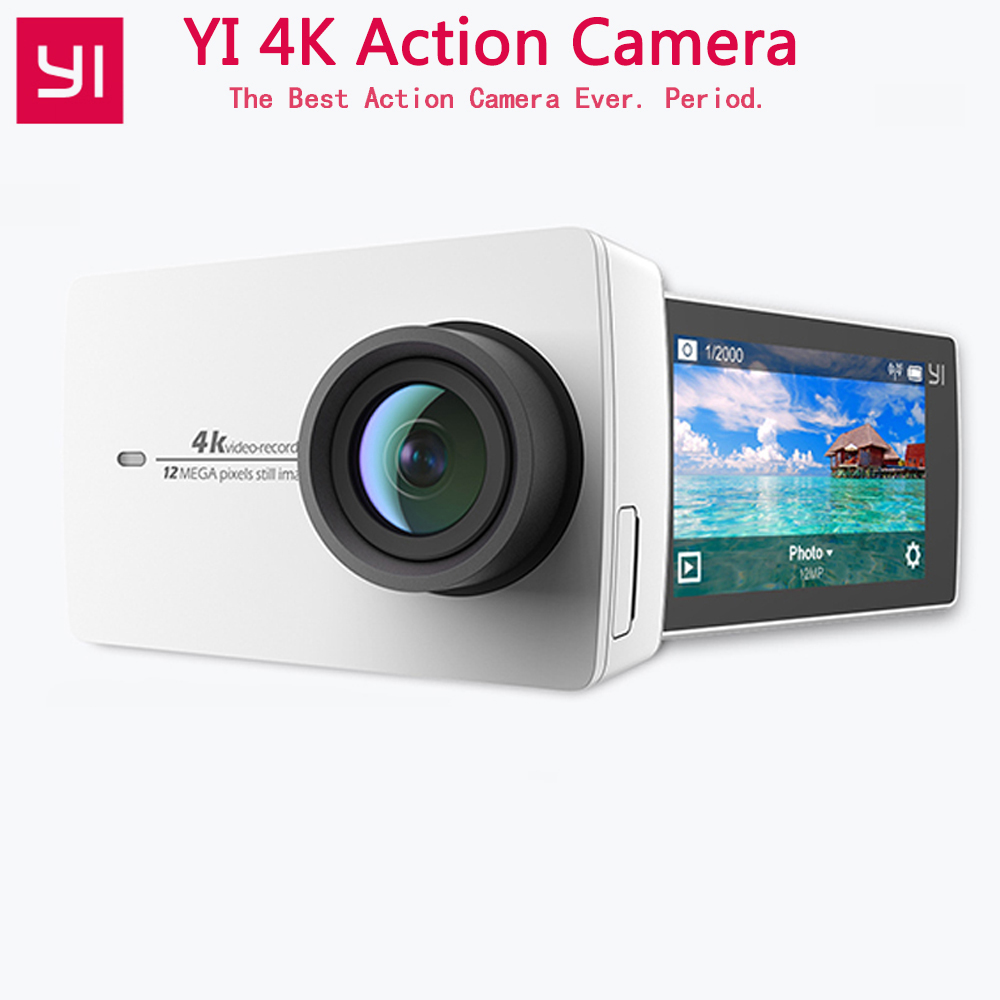 Xiaomi YI 4K Action Camera 4K 30 2 19 1080P HD IMX377 12MP 155 Degree EIS