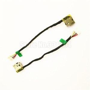 Бесплатная доставка AC DC Jack кабель питания для HP 14-AK 15-BN 15-AC 15-AY 15-AF 15-AE 15-BA 15-AS 17-X M6-P 799736