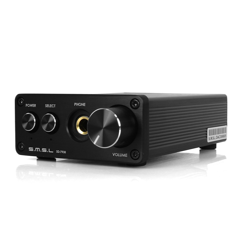 купить SMSL SD-793II amplifier audio PCM1793 dac audio hifi mini power amplifier volume control headphone amp по цене 5375.88 рублей