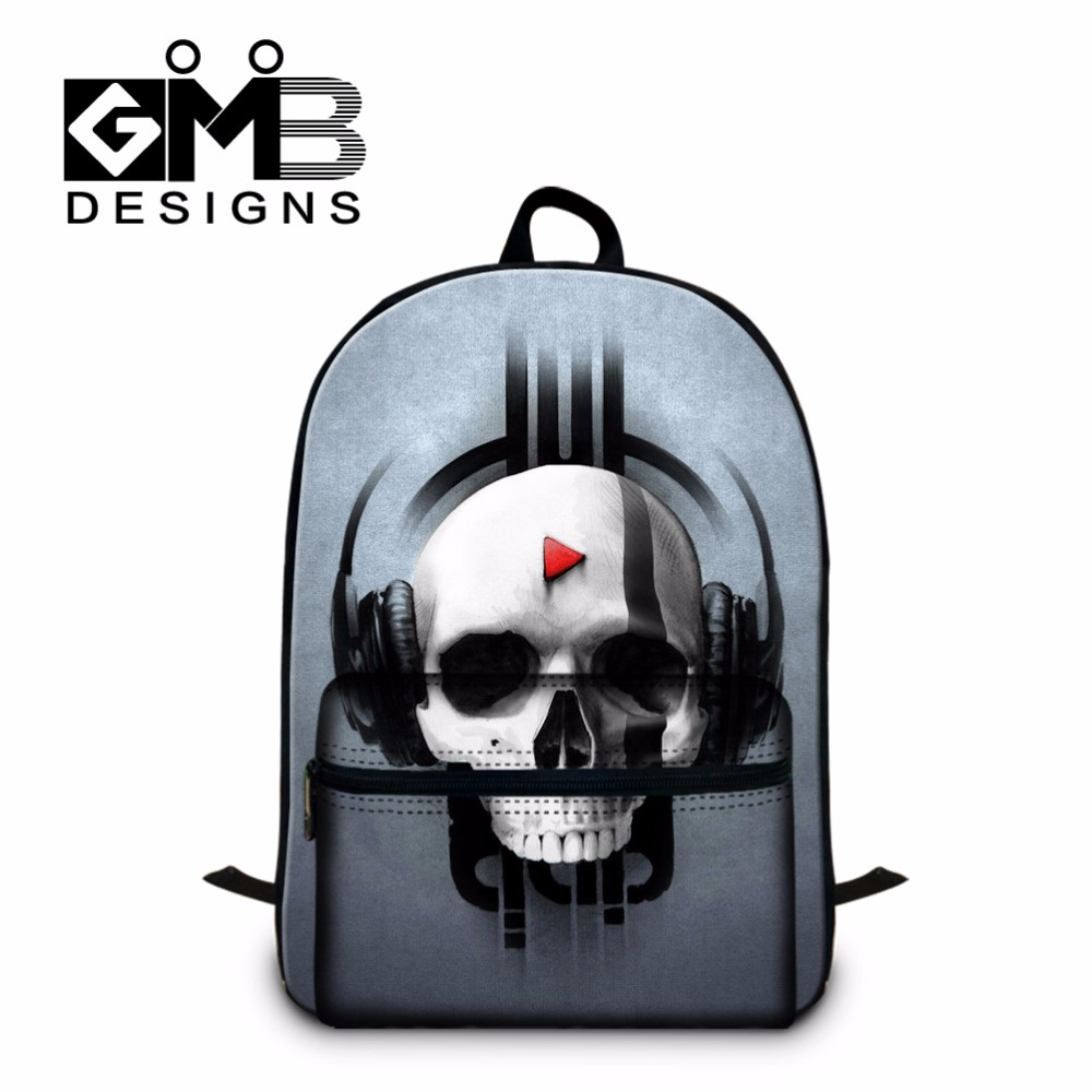 Aliexpress.com : Buy Skull Backpacks for High School Children,Cool ...