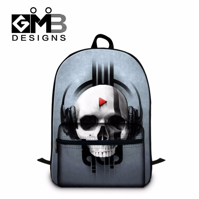 883aaa184860 Skull Backpacks for High School Children