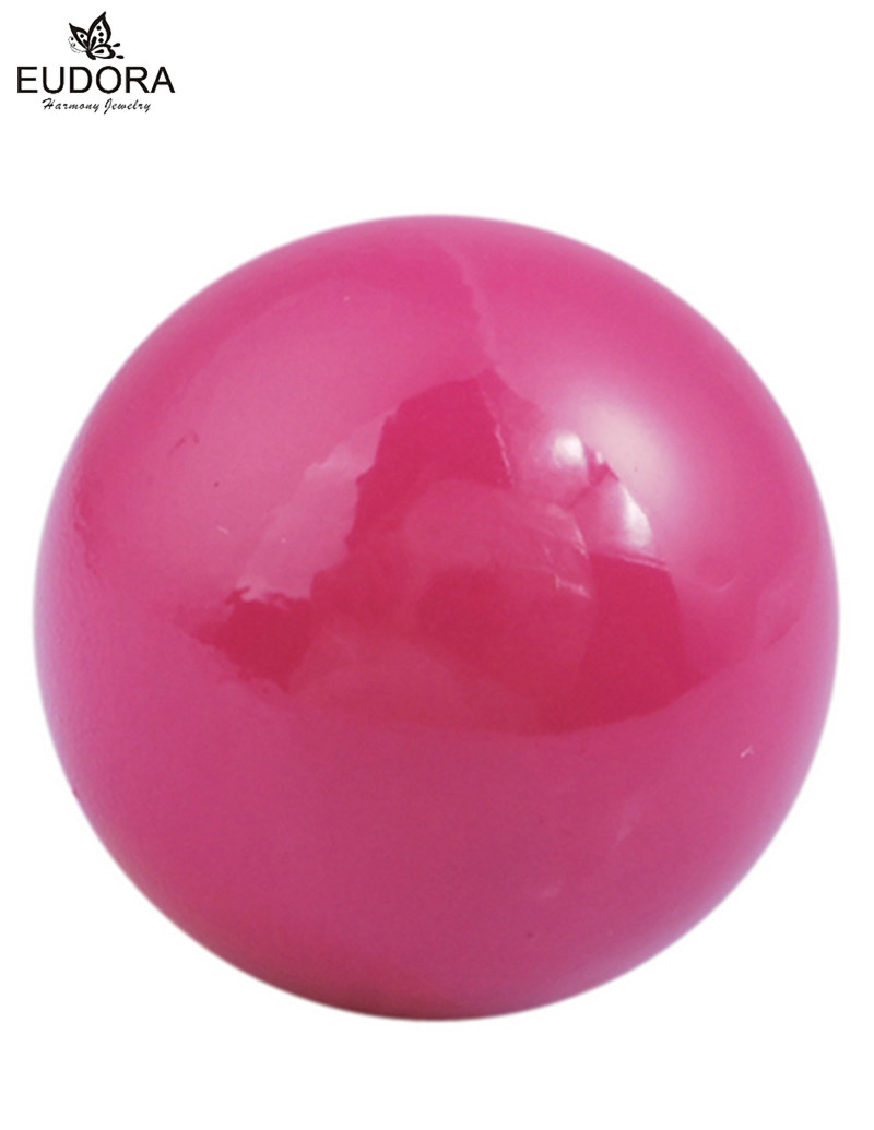 Pink Bell For Locket Charm Angel Caller Chime Ball Schmuck Ball Harmony Bola Bijoux Maternity Sounds Baby Caller