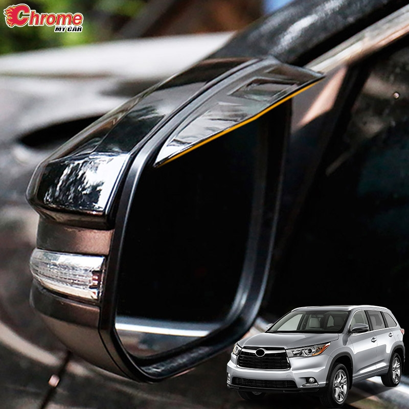 ABS Chrome Front Air Outlet Vent For Toyota Highlander//Kluger 2014-2018