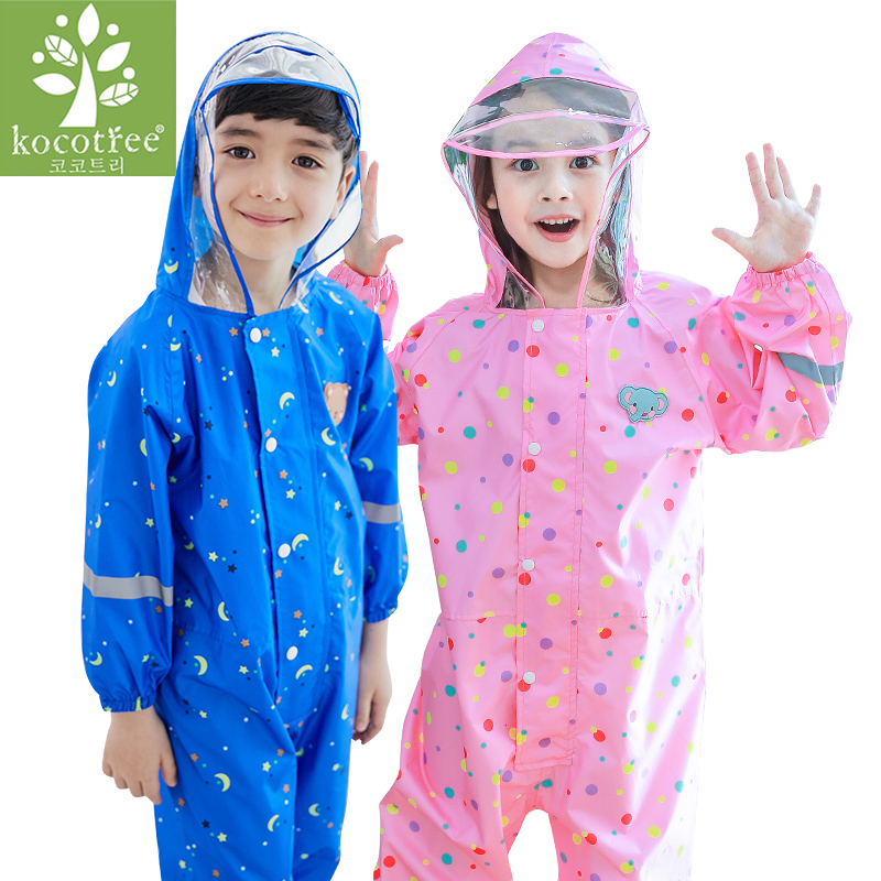 0c1397eec Best buy Baby Rompers Boys And Girls Waterproof Jumpsuits kids Clothing Sets  1 6 Years Old Children Romper Waterproof Clothes online cheap