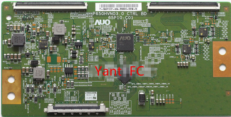 P650HVN03.0 65P10-C01 T-con Good Working Tested