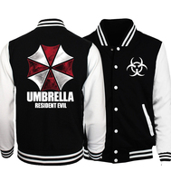 Resident Evil Umbrella Spring Jackets Hoodies Men 2017 Casual Star Wars Hip Hop Men Baseball Jackets