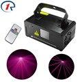 ZjRight IR Remote 200mW Pink PRO Laser Stage Light DMX512 Laser Scanner Light Beam effect Disco lighting Party Bar KTV dj Lights
