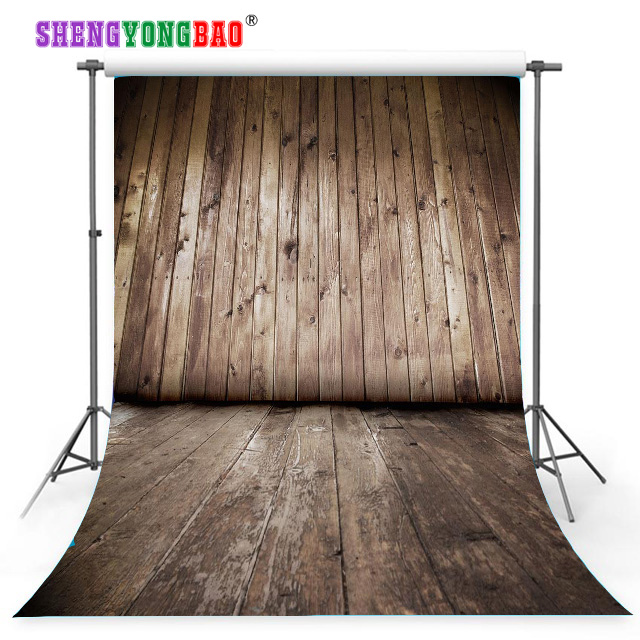 SHENGYONGBAO Art Cloth Custom Photography Backdrops Prop wood backgrounds for photo studio JTY-11 easter day basket colorful egg photo prop washable fleece photography backdrops for studio photography backgrounds hg 386 a