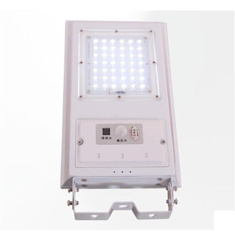 Солнечный свет Открытый Солнечный области Освещение с движения PIR Сенсор с дистанционным управлением Водонепроницаемый IP65 20 Вт 2500lm 4 шт./