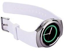 สมาร์ทนาฬิกาติดตามนาฬิกาข้อมือบลูทูธS Mart W Atch H Eart Rate Monitor PedometerโทรออกสำหรับA Ndroid IOS