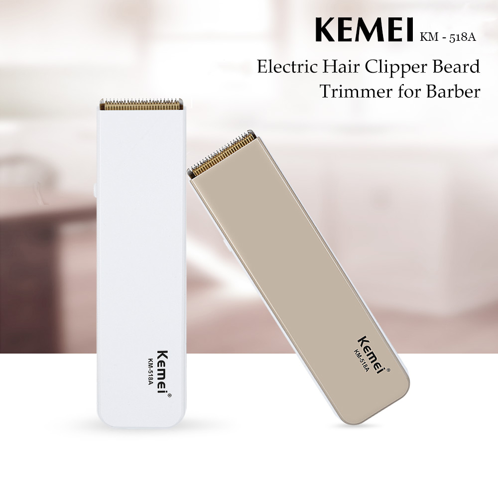 kemei km518a professional rechargeable electric hair clipper beard trimmer barber hairdressing. Black Bedroom Furniture Sets. Home Design Ideas
