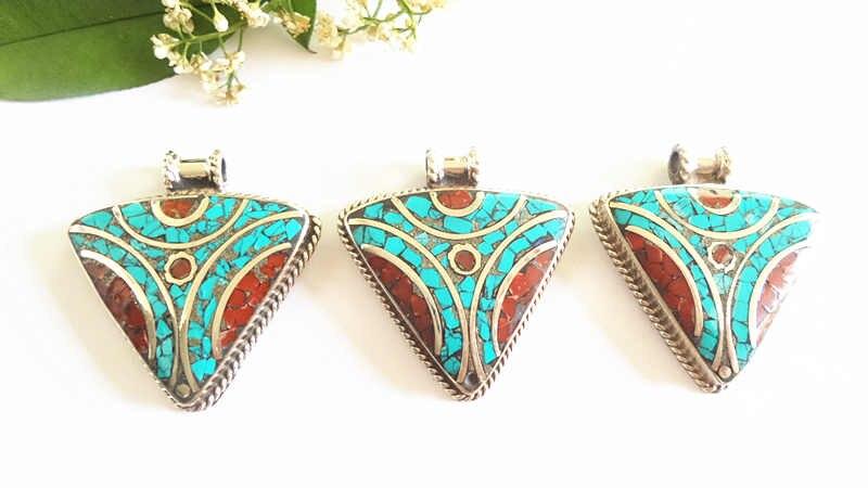 nepal hand metal pendants 158 (7)