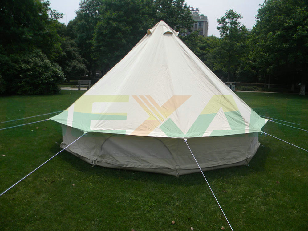 Waterproof 4M bell tent cotton yurt tent canvas tipi tent in Stock On sale-in Tents from Sports u0026 Entertainment on Aliexpress.com | Alibaba Group & Free Shipping ! Waterproof 4M bell tent cotton yurt tent canvas ...