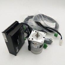 Leadshine 50 W 24 V DC Brushless Moteur + Drive Kit BLM57050-1000 + ACS606 Servo Brushless Pilote 3A 0.16NM 3000 RPM Impulsion Contrôle