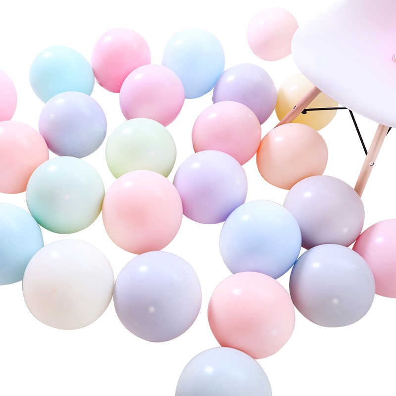 10 pçs 12 polegada macaron balão cor pura látex balões bolas de ar decoração do aniversário casamento globos festa de aniversário do chuveiro do bebê ballon