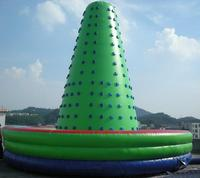 Outdoor game PVC Inflatable Climbing Wall in toys sport jumping inflatable Trampoline