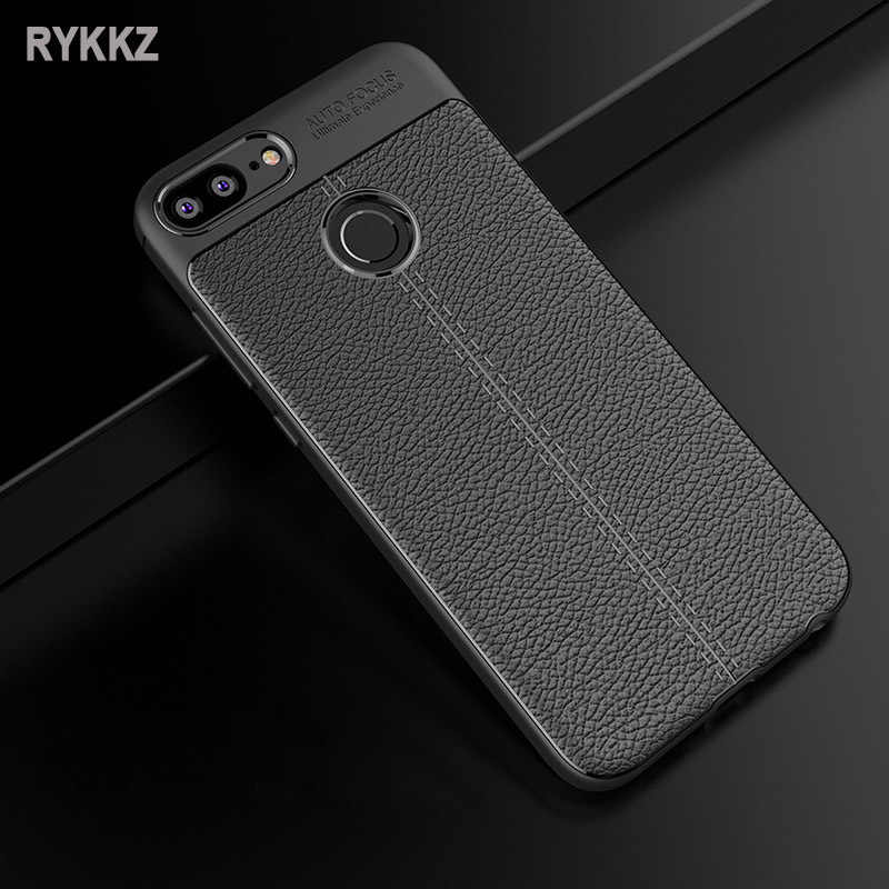 9680c457229 Luxury Back Cover For Huawei Honor 9 Lite Case Huawei honor9 lite Cover  Luxury Leather TPU