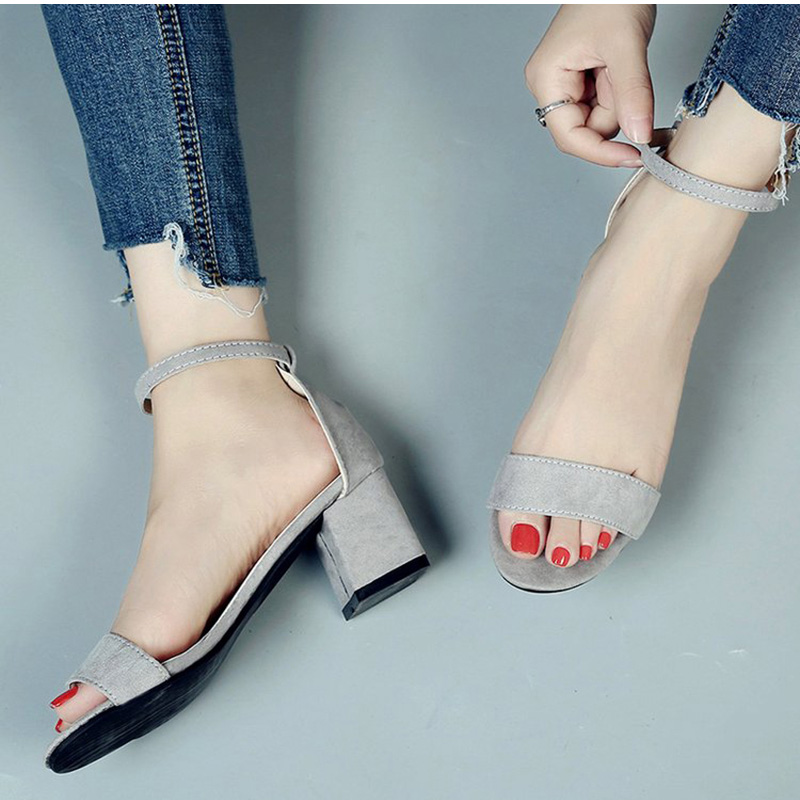 MCCKLE Summer Women Shoes Gladiator Buckle Strap Cover Heel Fashion Chunky Ladies Sandals For Woman Ankle Strap FootwearMCCKLE Summer Women Shoes Gladiator Buckle Strap Cover Heel Fashion Chunky Ladies Sandals For Woman Ankle Strap Footwear