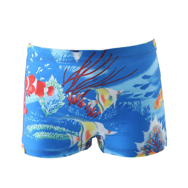 a0a717ae129ba ... Baby Boy Swimming Trunks monkey car fish print Cartoon Bathing Suit Children  Swim Shorts Kids toddler ...
