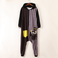 Rompers womens jumpsuit Harajuku Print Loose bodysuit for women fashion striped jumpsuits cute street style Hoodies