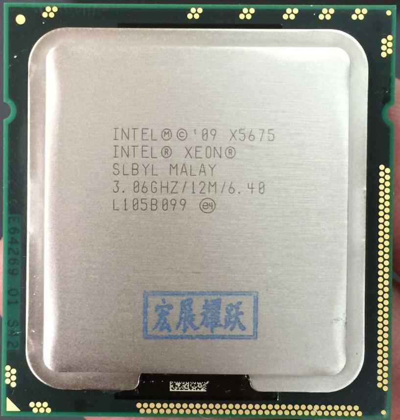 Процессор Intel Xeon X5675 (12 Мб кэш-памяти, 3,06 ГГц, 6,40 GT/s Intel QPI) серверный ЦП LGA 1366