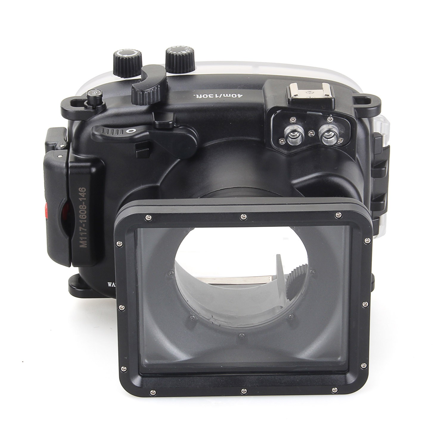 DF Meikon 40m/130ft Underwater Diving Camera Housing Waterproof Camera Bags Case for Fujifilm X t10 (16 50mm) Camera