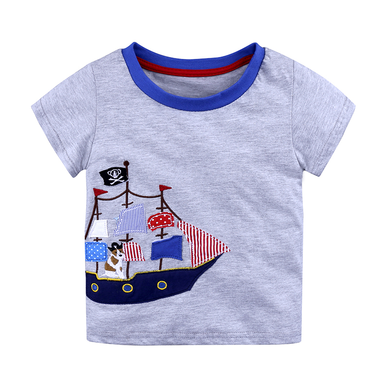 Cute children t shirt 1 6y boys Tee children 39 s cotton tops tees kids leisure t shirts clothes 1 piece 2019 boys costume in T Shirts from Mother amp Kids