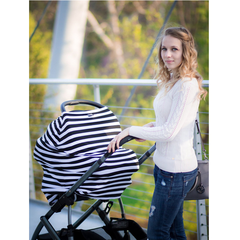 NEW Breast Feeding Cover Soft Infant Breathable Shawl Nursing Cover Comfortable Shopping Cart Cover High Chair Cover ZCZT01