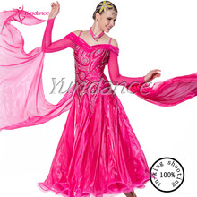 Бальных танцев платья Стандартный этап женщины b-1086