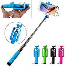 цена на 2019 Hot sale Universal 15-63cm Extendable Handheld Self-Pole Tripod Monopod Stick For Smartphone for iphone 6s for Samsung S8
