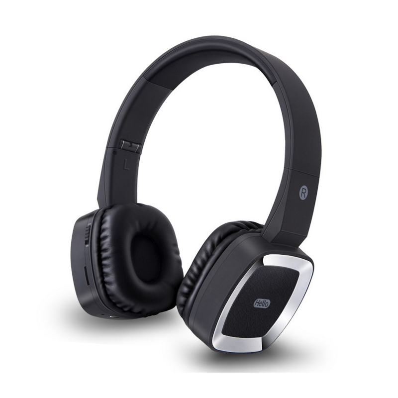 V4.0 Bluetooth Headphone Hifi Sound Headset With Microphone Sport Wireless Bluetooth Headphone With Micro-SD Card Slot Earphone economic set original nia 8809s 8 gb micro sd card a set wireless headphone sport for tv with fm