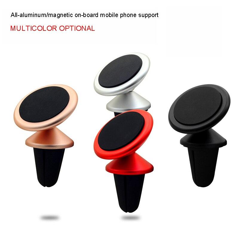 Автомобильный держатель телефона Магнитная Air <font><b>Vent</b></font> Mount мобильный смартфон стенд магнит Поддержка стол 360 градусов Универсальный автомобильны&#8230;
