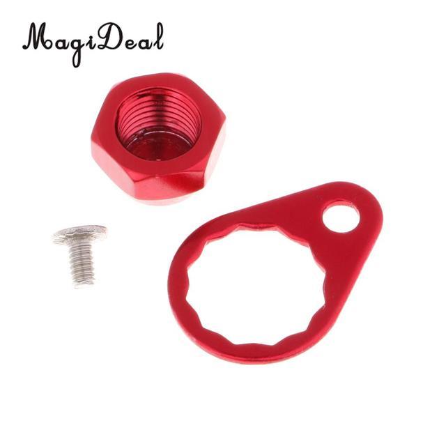 M8 Fishing Reel Spool Nut Lock Piece Set Reel Handle Parts For ABU//DAIWA