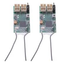 2 шт. Dsmx DSM2 удаленный приемник для Spektrum DX6 DX6I, CM410X 4 канала 2,4 ГГц