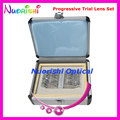 Progressive Lens Set Kit Trial Lens Set Ophthalmic Optical Lenses Case 22AL-JSPG Free Shipping