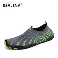 Men Barefoot Aqua Shoes Summer Soft Yoga Fitness Slip On Water Sneaker Water Sports Sea Swimming Diving Shoes AA51008