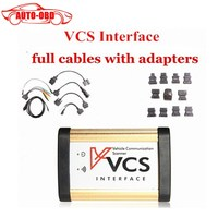2017 New VCS Vehicle Communication Scanner Interface With Full Adapters VCS SCANNER VCS Interface Car Diagnostic
