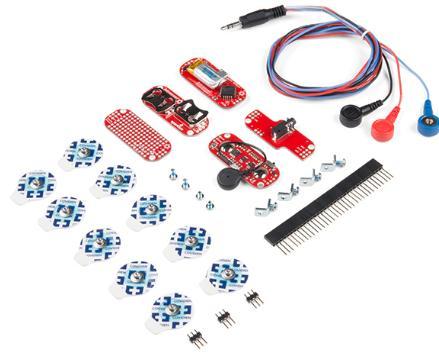 Spot KIT 13729 MyoWare Muscle Sensor Wearable Muscle Electric Sensor Kit 14409