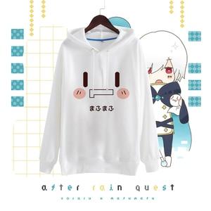 Image 2 - Anime Nico Mafumafu Cosplay Plus velvet Hoodies Casual Long Sleeve Cute Harajuku Style Hoodies Size S 2XLFor Men and Women