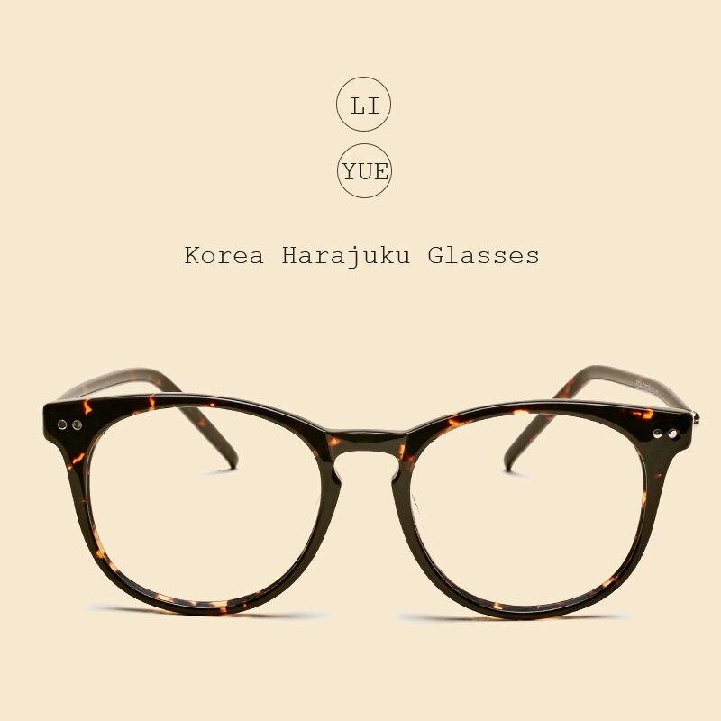 LIYUE Vintage opitcal Brille Männer Brillengestell Neue Marke Frauen - Bekleidungszubehör - Foto 2