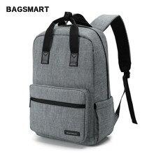 eba2985343 BAGSMART unisexe sac à dos pour ordinateur portable 15.6 pouces sac à dos  sac d'école voyage étanche sac à dos hommes ordinateur.