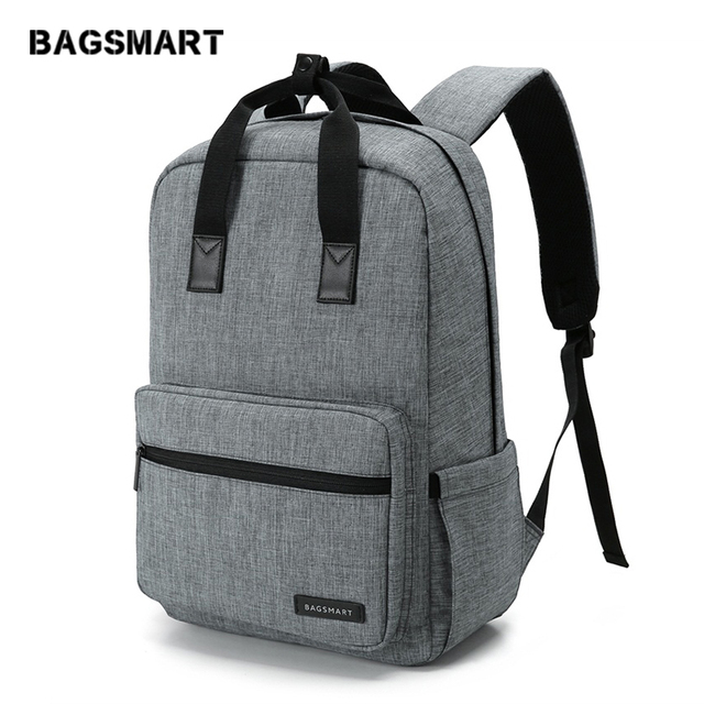BAGSMART Unisex Laptop Backpack 15.6 Inch Rucksack SchooL Bag Travel Waterproof Backpack Men Notebook Computer Bag Business