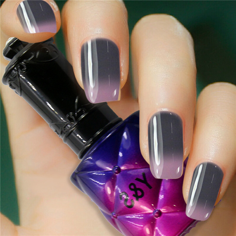 Gel Nail Polish Sale: Nail Gel Polish Hot Sale Gel Lacquer Temperature Color UV