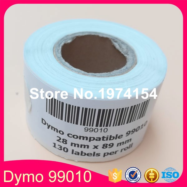 120 x Rolls dymo99010 99010 (Dymo 99010 ) 28mmx89mm dymo roll,etiquette ,address stickers label, sticker shipping