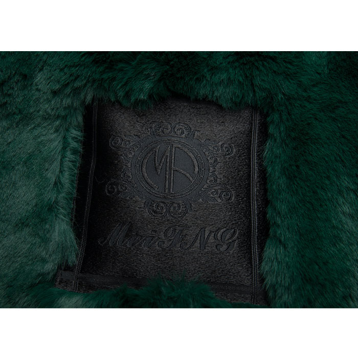 Doublure Veste Manteaux Renard Parka Fourrure Laveur Style M Raton Col Marque Italie D'hiver Foncé Capot De Vraie Vert Femmes xwqU8nz0T