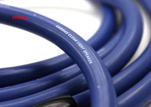 Image 3 - Дешево Бесплатная доставка, Прозрачный Светлый кабель для динамика с вилкой типа «банан»